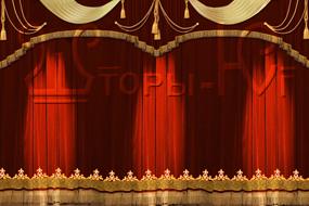 эскиз одежды сцены с закрытым АРЗ